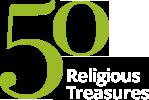 Faculty of Divinity 50 Treasures logo